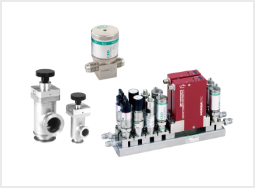 Components for high vacuum/special gases