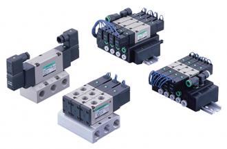 Pneumatic valve 4KA/B・M4KA/B・MN4KB   Component products   CKD